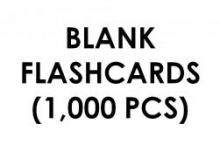Flashcards Blank (1,000 pcs) - A5 Size 310 gram
